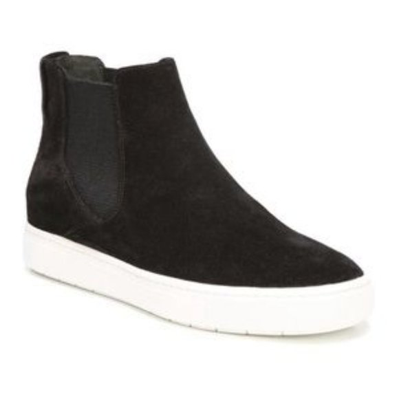 Newlyn Suede High Top Sneakers Booties